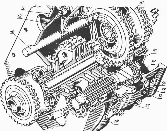 Шестерня промежуточного редуктора МТЗ-80 70-1721041